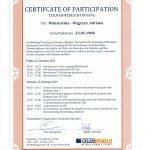 Dyplom ukończenia szkolenia podologicznego