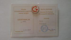 ZŁOTA ODZNAKA-Polskie Towarzystwo Diabetologiczne